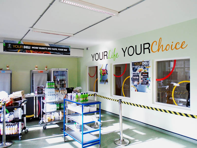 Internal and external signage for schools