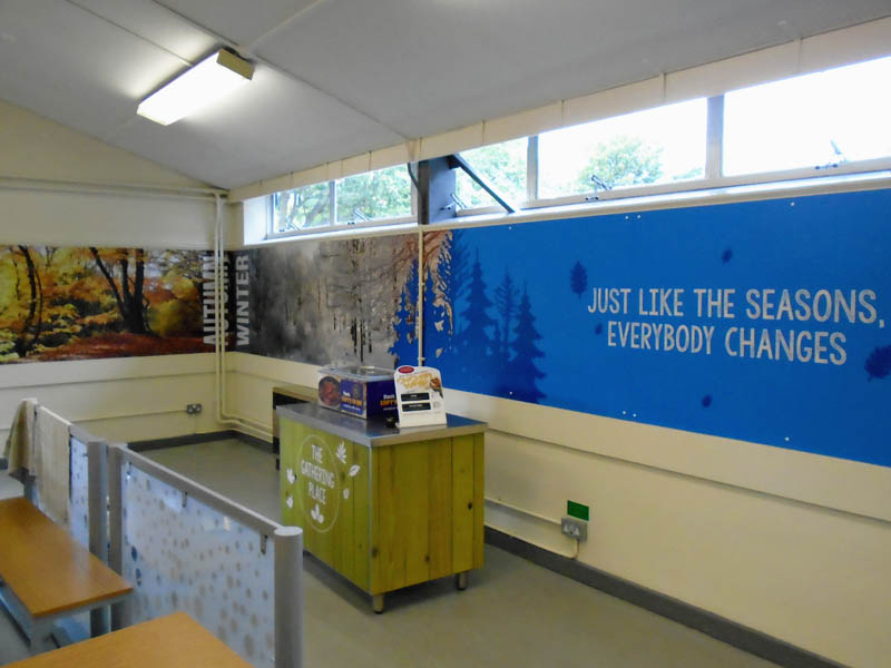 Wall Coverings for schools